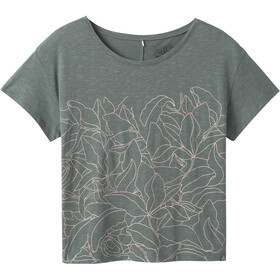 Prana Chez Camiseta Manga Corta Mujer, gris